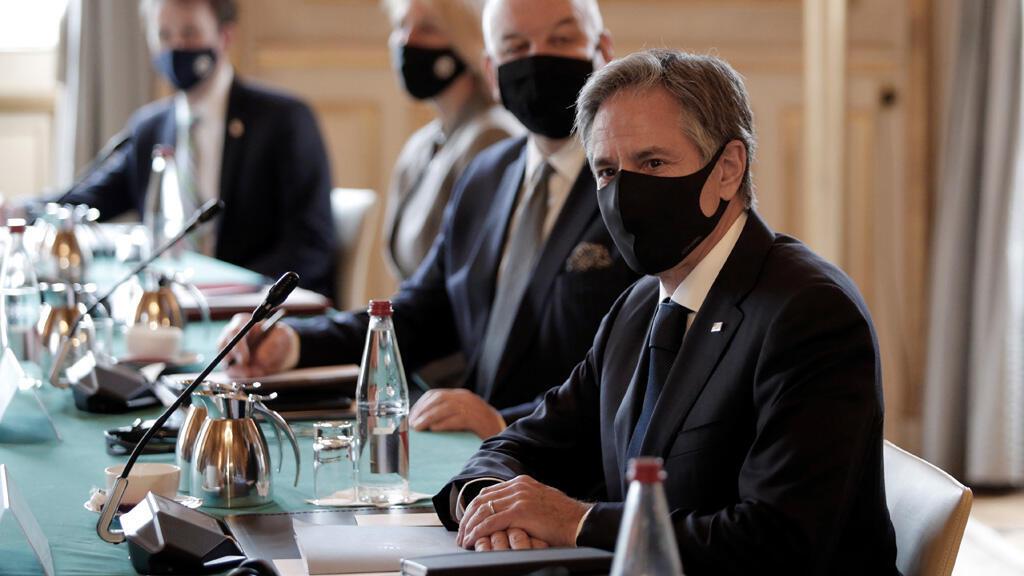 وزير الخارجية الأمريكي أنتوني بليلنكن في باريس