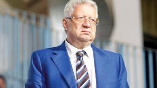 رئيس نادي الزمالك مرتضى منصور