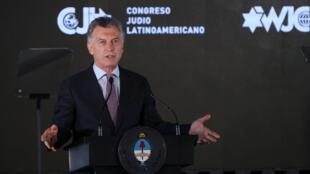 الرئيس الأرجنتيني ماوريسيو ماكري -