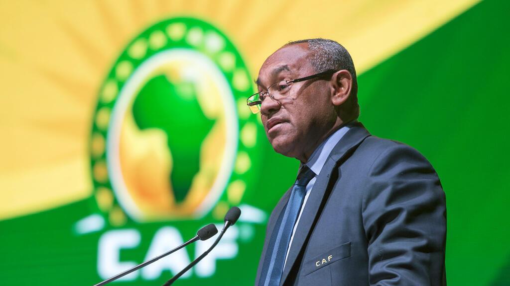 رئيس الاتحاد الإفريقي لكرة القدم أحمد أحمد
