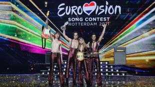 """فرقة """"مونيسكين"""" الإيطالية التي فازت بمسابقة """"أوروفيزيون"""" الغنائية الأوروبية للعام 2021"""