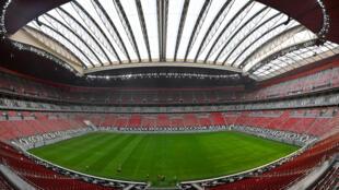 صورة لاستاد البيت الذي ستقام فيه المباراة الافتتاحية لكأس العالم  2022