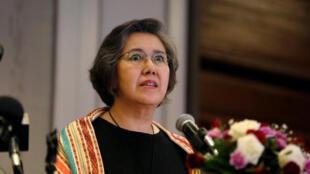 يانغي لي مقررة الأمم المتحدة الخاصة بحقوق الإنسان في ميانمار