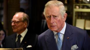"""الأمير تشارلز في """"كولِج دو فرانس"""""""