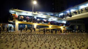 اغلاق الطرق أمام جامعة الصين في هونغ كونغ