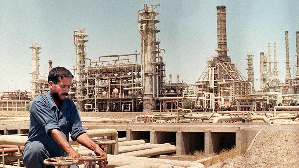 في موقع نفطي في كركوك العراقية آذار/مارس 1998