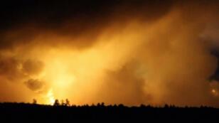انفجارات قرب بلدة ايتشنيا الأوكرانية