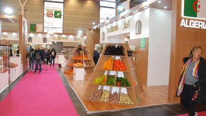 البطاطا وبعض منتجات الجناح الجزائري الأخرى في المعرض