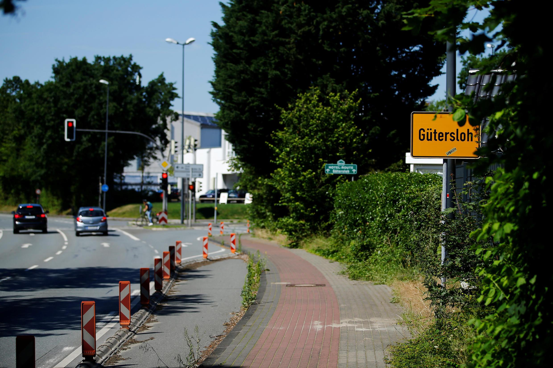 GERMANY-CORONAVIRUS-GUETERSLOH