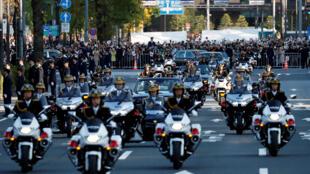 موكب ملكي لإحياء ذكرى الإمبراطور الياباني ناروهيتو في طوكيو-