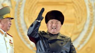 الزعيم الكوري الشمالي كيم جونغ أون في بيونغ يانغ