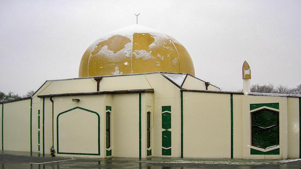 مسجد النور في كرايستشيرش الذي وقع فيه الهجوم