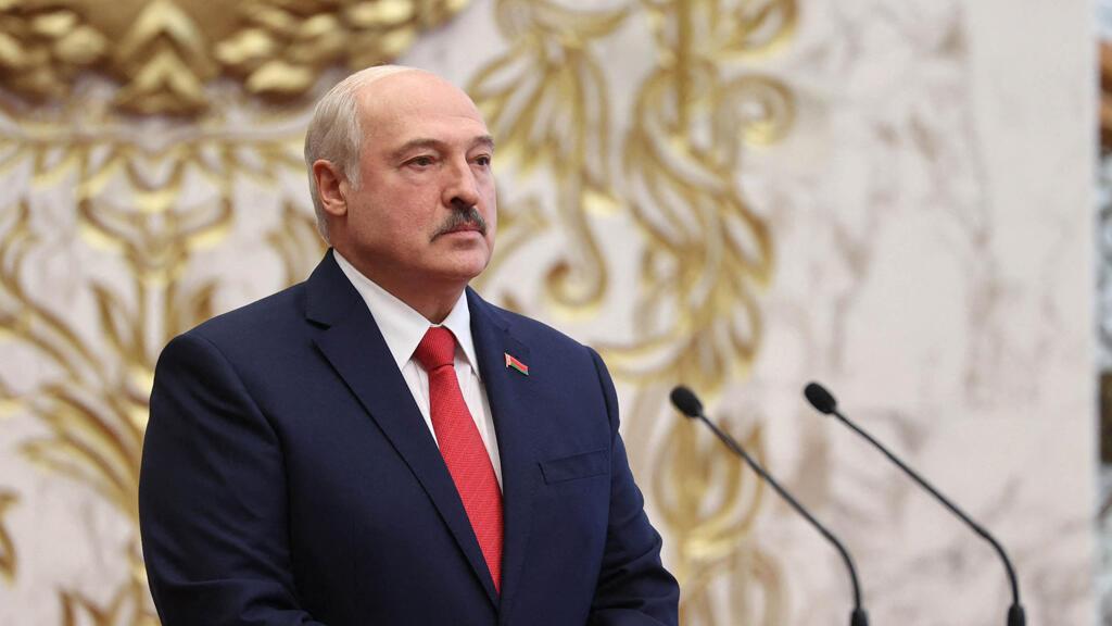 الرئيس البيلاروسي الكسندر لوكاشنكو في مينسك