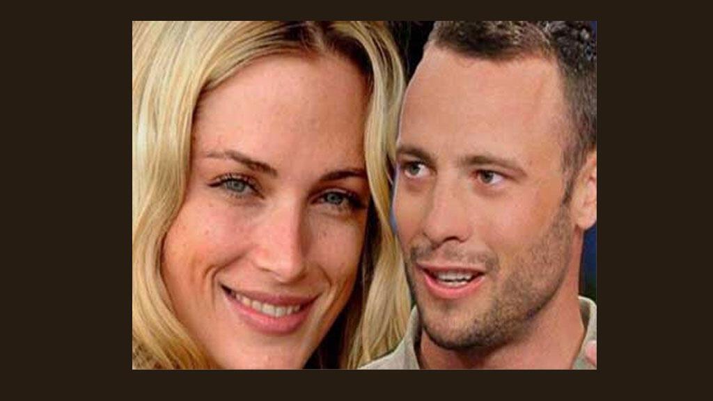 اوسكار بيستوريوس وصديقته عارضة الأزياء ريفا ستينكامب
