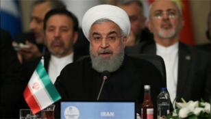 / الرئيس الإيراني حسن روحاني