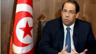 رئيس الوزراء التونسي يوسف شاهد