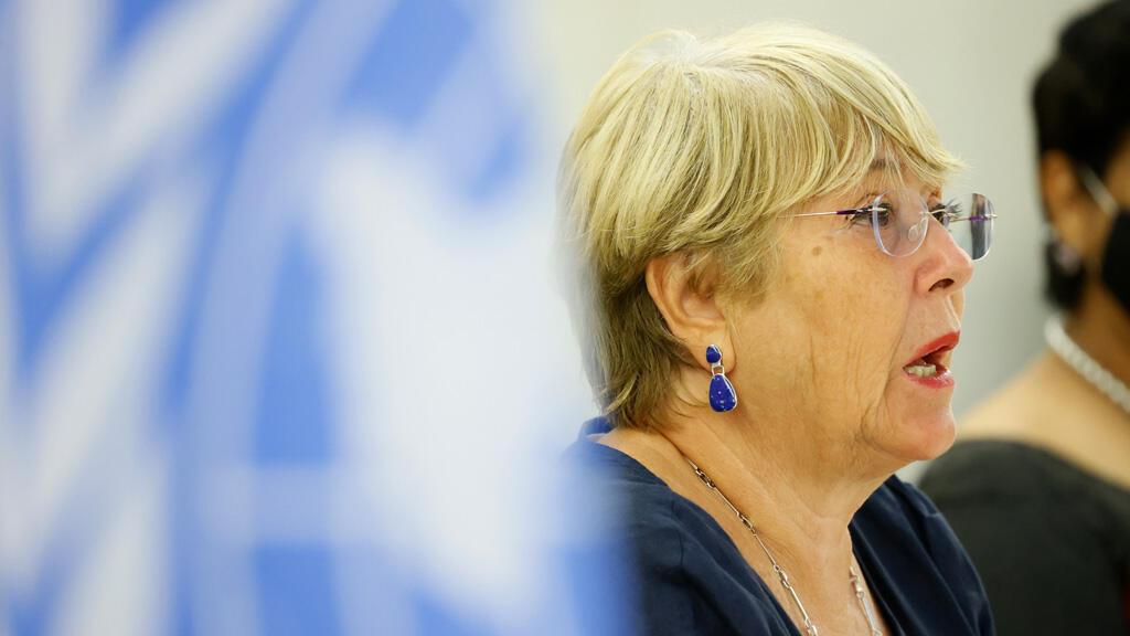 المفوضة العليا لحقوق الإنسان في الأمم المتحدة ميشيل باشليه