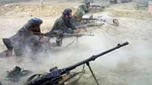 / مجموعة مقاتلة من حركة طالبان