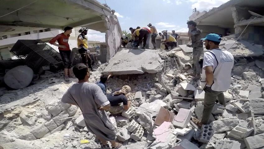 الدمار في إدلب