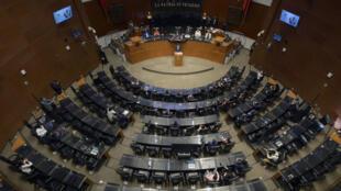 خلال جلسة للبرلمان البوليفي