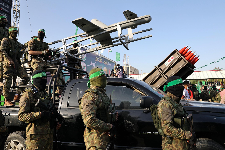 """عناصر من تنظيم """"حماس"""""""