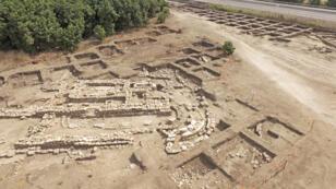 بقايا المدينة التي عثر عليها في إسرائيل