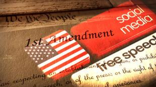 التعديل الأول للدستور الأمريكي و المعلومات المضللة على المنصات الاجتماعية