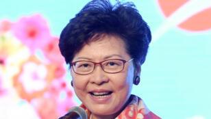 رئيسة السلطة التنفيذية في هونغ كونغ كاري لام