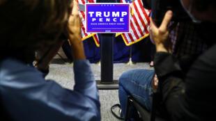 مؤتمر صحفي لممثلي حملة ترامب في واشنطن