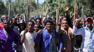المظاهرات في إثيوبيا
