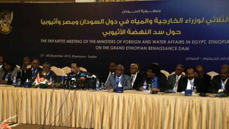 من الأجتماع الثلاثي لوزراء خارجية دول السودان ومصر وإثيوبيا 27 12 2015