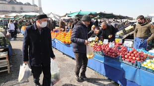 سوق في مدينة أنقرة