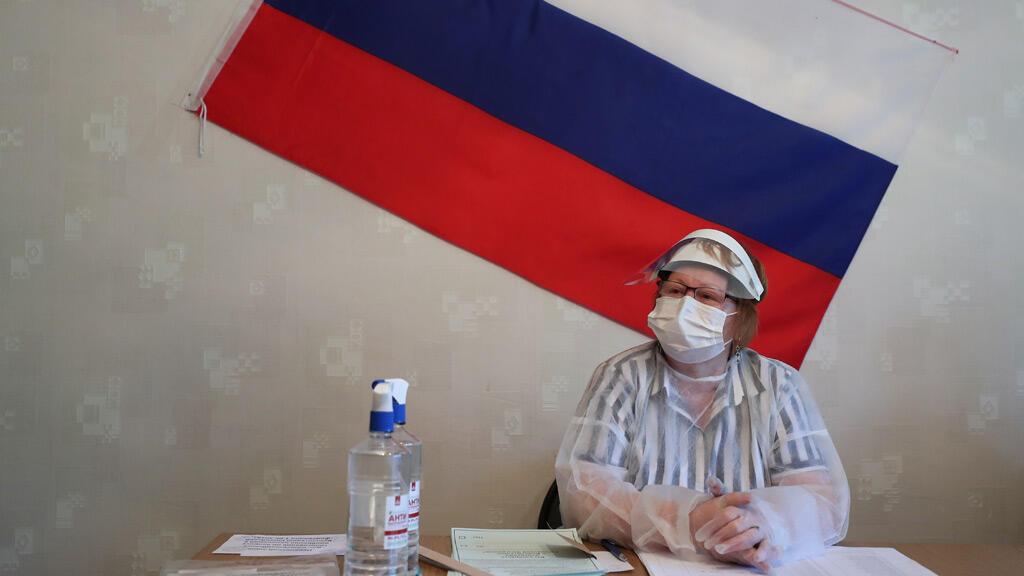 خلال الاستفتاء على التعديلات الدستورية في روسيا