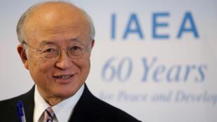 المدير العام للوكالة الدولية للطاقة الذرية أمانو