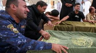 ضحايا حريق مستشفى الناصرية ببغداد