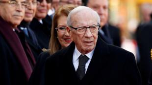 رئيس الجمهورية التونسية الراحل الباجي قايد السبسي