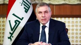 رئيس الوزراء العراقي محمّد علاوي الذي اعتذر عن تشكيل حكومة