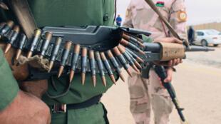 عناصر تابعة لقوات حكومة الوفاق الوطني