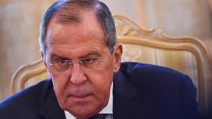 / وزير الخارجية الروسي سيرغي لافروف