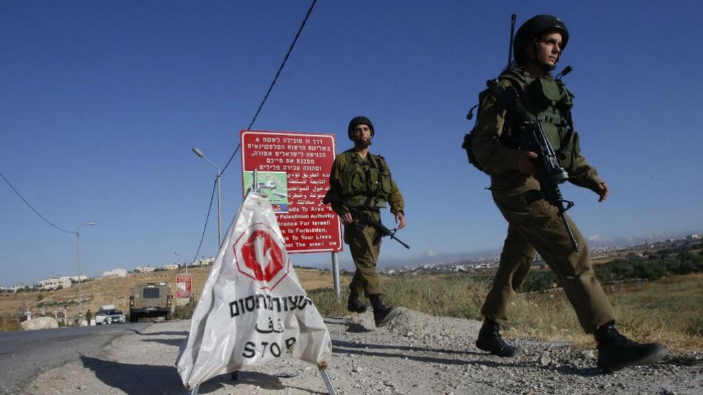 حاجز أمني للجيش الإسرائيلي (2016)
