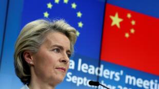 خلال قمة افتراضية بين الاتحاد الأوروبي والصين منتصف أيلول 2020