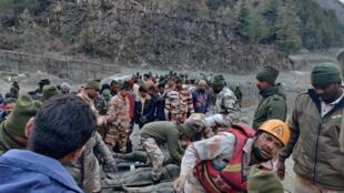 عمليات الانقاذ في الهيمالايا