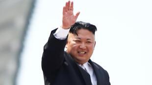 الزعيم الكوري الشمالي كيم جونج أون