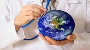 صحة الانسان من صحة الكرة الأرضية