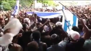 مواجهات بين الشرطة الاسرائيلية ومهاجرين من أصل إثيوبي