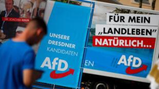 الحملة الانتخابية للحزب اليميني المتطرف البديل لألمانيا