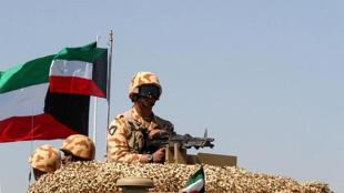 عرض عسكري في العاصمة الكويت 7 آذار/مارس 2007