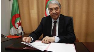 رئيس الوزراء الجزائري الأسبق علي بن فليس