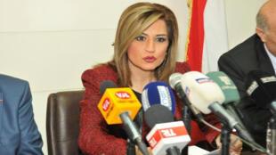 لور سليمان المديرة السابقة للوكالة الوطنية اللبنانية للإعلام