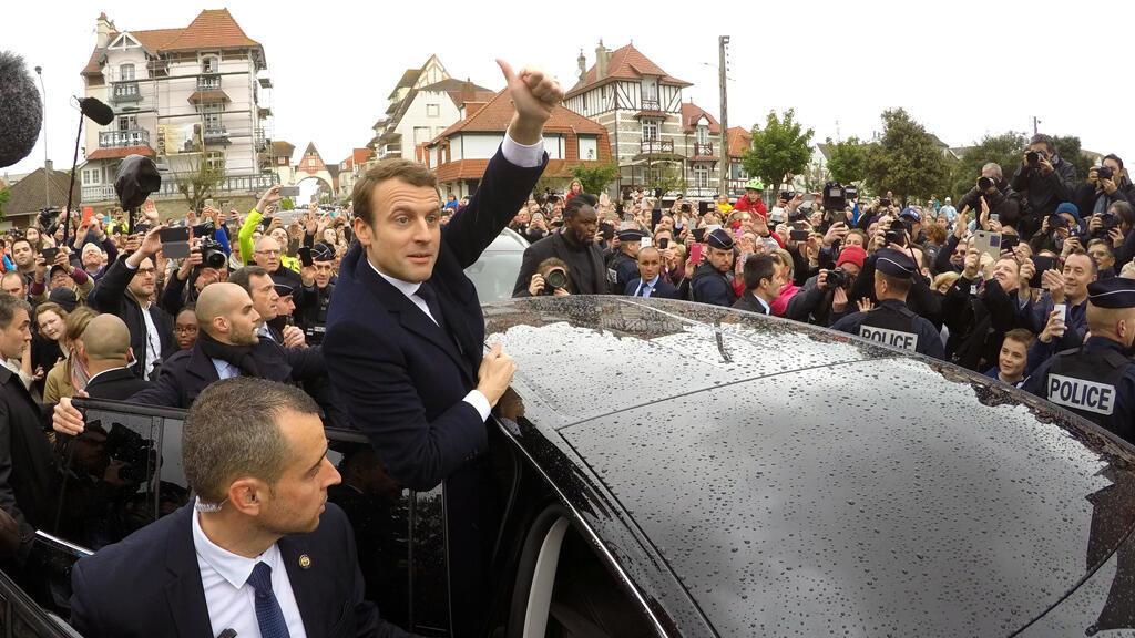 المرشح للانتخابات الرئاسية الفرنسية 2017 إيمانول ماكرون